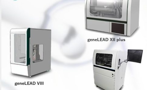 PCR全自動検査装置「geneLEAD」シリーズ